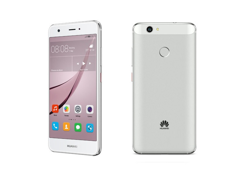 Huawei Nova front back