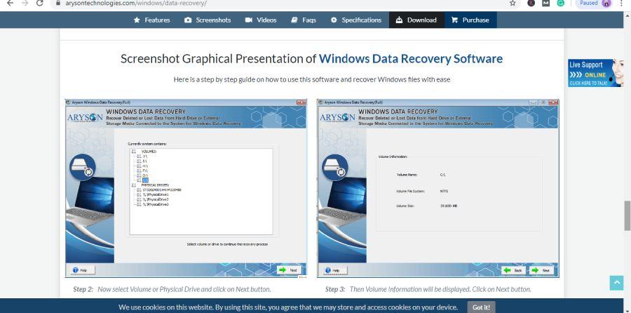 Aryson-Windows-Data-Recovery