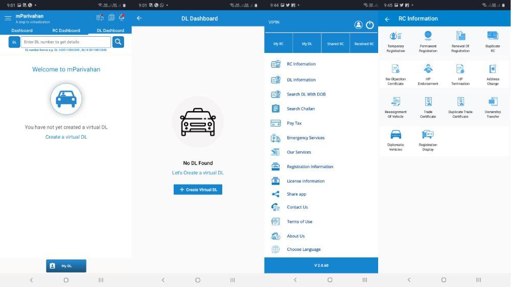 mParivahan-Mobile-App