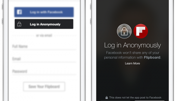 Facebook Introduces Anonymous Login to maintain the privacy of its users