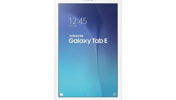 Samsung Galaxy Tab E With 5MP Camera Launched at Rs. 14,500