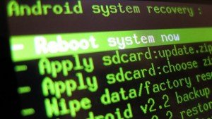 android rooting screen