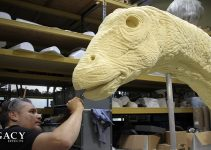 Making of dinosaurs in Jurassic World – Legacy Effects