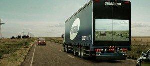 samsung see through safety truck