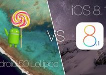 Android Lollipop vs iOS 8 : A Visual Comprehensive Comparison