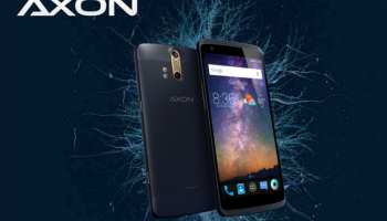 ZTE Axon With 13MP Dual Camera and 4GB RAM Launched