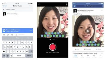 "Facebook ""Birthday Cam"" Encourages Videos, Not Robotic Wall Posts"