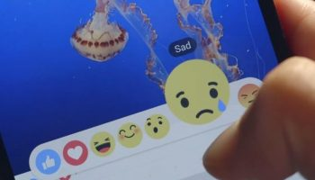 Facebook Like Button Modified with 6 Empathetic Emotions