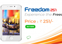 Freedom 251 – World's Cheapest Smartphone by India
