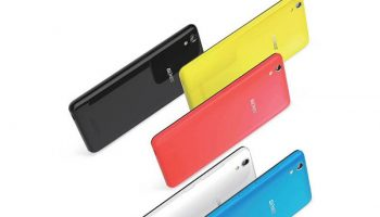 Gionee P5W With 5-Inch Display and 16GB memory Launched at Rs. 6,499