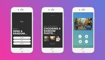 Rando is a random social sharing app that lets you play Russian Roulette with photos, GIFs and more