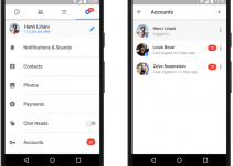Facebook Now Lets You Use Multiple Accounts On Messenger For Android