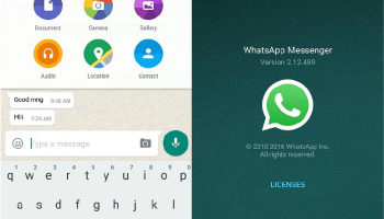 Is there any way to send text file or document through whatsapp ?