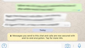 WhatsApp Implemented End-to-End Encryption by default for its 1 Billion Users