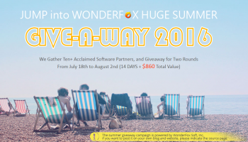 Wonderfox Summer Giveaway Free Software From July 18th to August 1st