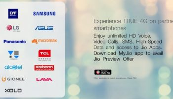 Reliance Jio Offer Extended to 4 More Smartphone Companies