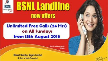 BSNL Freedom Offer – Unlimited 24hr Free Calling on Sunday