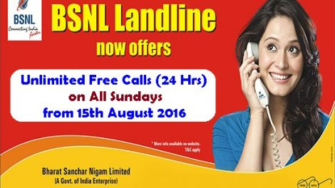 bsnl-landline-unlimited-calling-SUNDAYS-offer