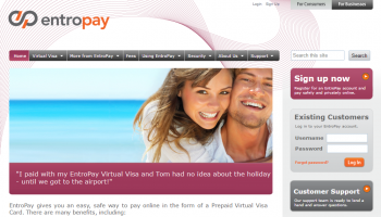 Entropay – Free International Virtual Credit Card for Online Transaction