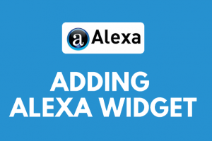 add-alexa-widget-website