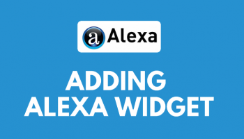 Simple Way to Add Alexa Widget on Your Website