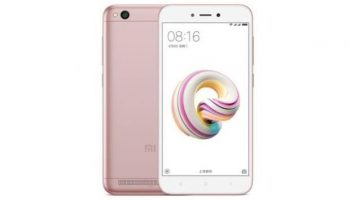 Xiaomi Redmi 5A with 13MP Camera Available at a Price of Rs. 7,499