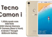 Tecno Camon i With 13-Megapixel Camera and 3GB RAM Launched in India