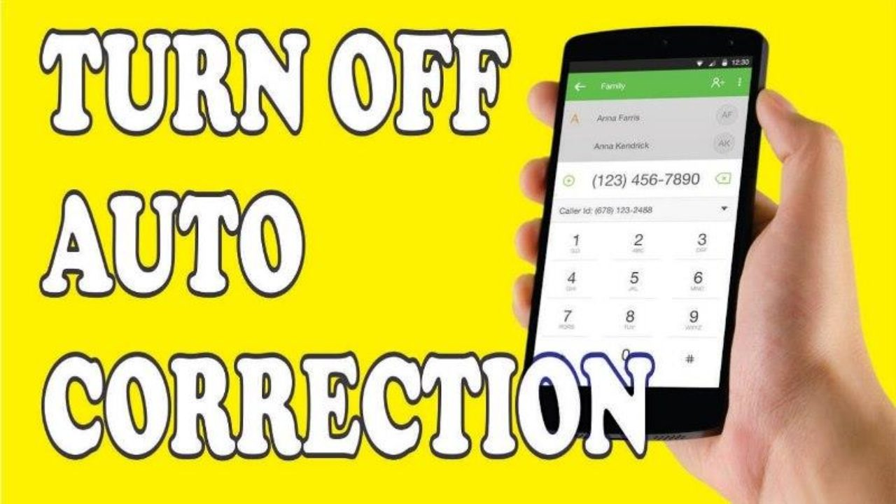 How to Turn Off Auto Correction On Android Keyboard