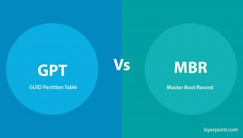 Difference Between GPT And MBR Boot Options