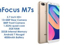 InFocus M7s With 5.7 Inch Display and Dual Rear Camera Launched