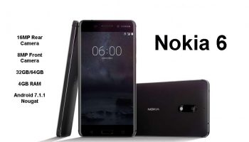 Nokia 6 – The First Smartphone From Nokia in 2018 Launched