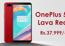 OnePlus 5T Lava Red Colour Edition Launched in India at a Price of Rs. 37,999