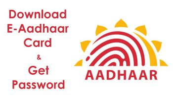 What is the Password to Open Aadhaar Card Card Downloaded as E-Aadhaar?