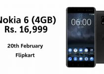 Nokia 6 – 4GB RAM Variant Launched in India at a Price of Rs. 16,999