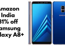 Avail Massive Discount of 31% on Samsung Galaxy A8+ From Amazon