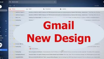 Gmail Updated its UI with New Stylish Material Design