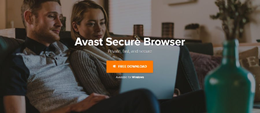 Avast Secure Browser Private browser from Avast