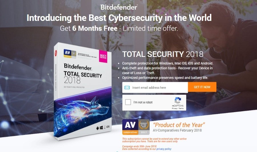 Get Total Security 2018