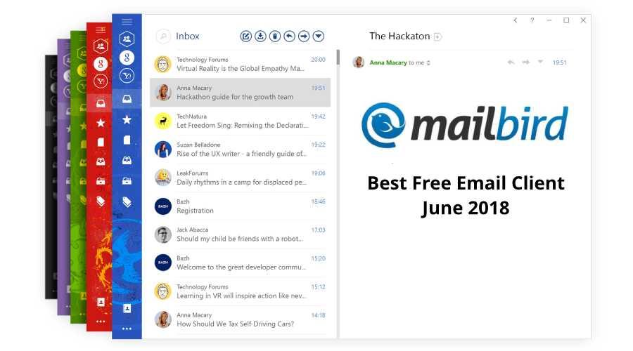 mailbird-best-free-email-client