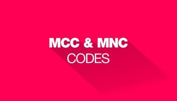 MCC MNC Mobile Network Code In India