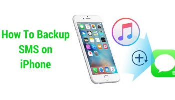 IOS Tips – How to Backup SMS on iPhone