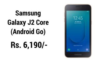 Samsung Galaxy J2 Core Android Go With Oreo 8.1 Launched in India