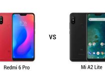 Comparison of Mi A2 Lite And Redmi 6 Pro Mobile Phones