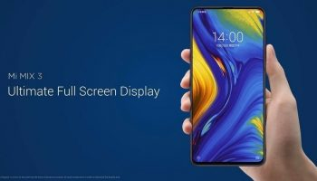 Xiaomi Mi Mix 3 With Sliding Front Camera Four Cameras And Up to 10GB RAM Launched
