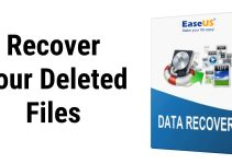 Recover Your Deleted Files With The Help Of EaseUS Data Recovery Software