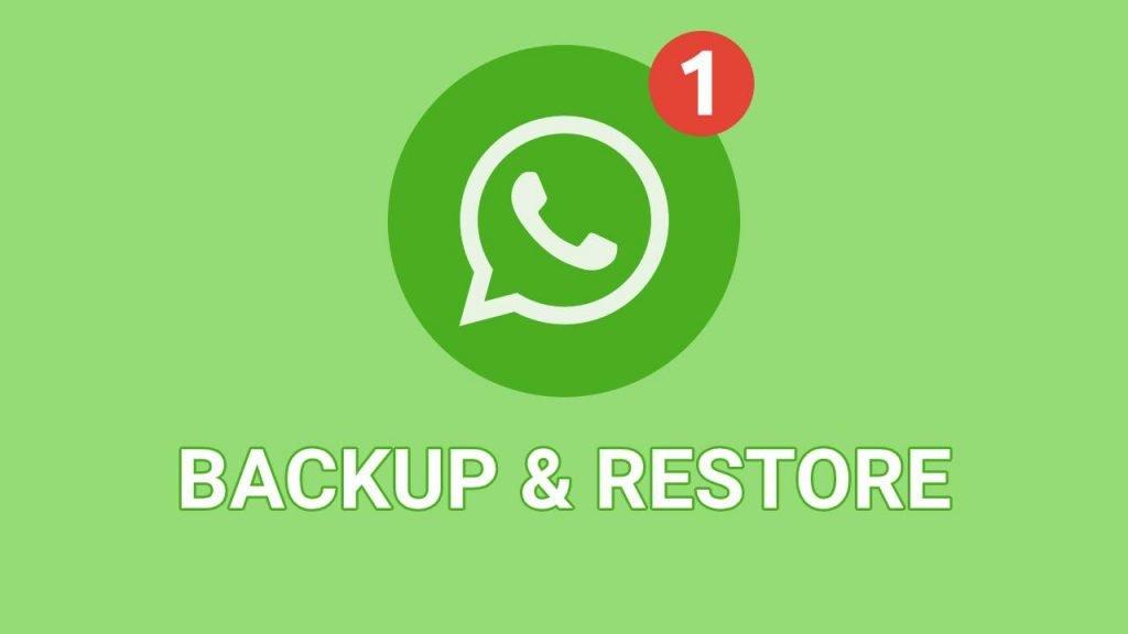 WhatsApp-Chat-Backup-restore