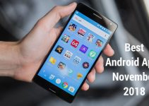 3 Best Android Applications For November 2018