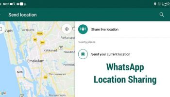 How to Use WhatsApp Location Sharing