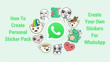 How to Enable WhatsApp Personal Sticker Pack