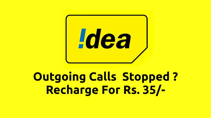 Outgoing Service Stopped For Idea Users - Next Vodafone and